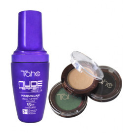 - TAHE - Maquillaje Nude Perfect + Ampolla Flash de regalo 40 ml