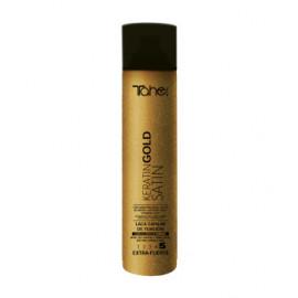 - TAHE - Laca Botanic Keratin Gold fijación 5 (extrafuerte) 400 ml
