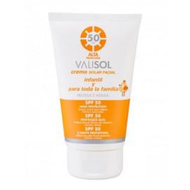 - VALISOL - Crema Solar Facial S.P.F. 50 100 ml