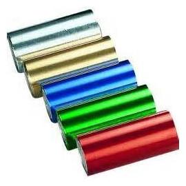 - MDM - Estuche papel aluminio plata 12 cm x 7 m