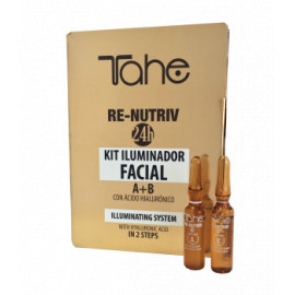 - TAHE - Kit Iluminador Re-Nutriv con ácido hialurónico 2x2ml