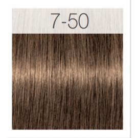 - SCHWARZKOPF - Tinte Igora Royal Absolutes 7/50 Rubio Medio Dorado Natural 60 ml + oxidante gratis