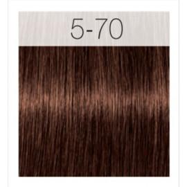 - SCHWARZKOPF - Tinte Igora Royal Absolutes 5/70 Castaño Claro Cobrizo Natural 60 ml + oxidante gratis