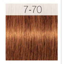 - SCHWARZKOPF - Tinte Igora Royal Absolutes 7/70 Rubio Medio Cobrizo Natural 60 ml + oxidante gratis