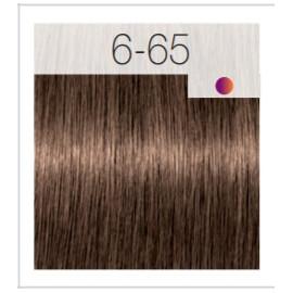- SCHWARZKOPF - Tinte Igora Royal 6/65 Rubio Oscuro Marrón Dorado 60 ml + oxidante gratis
