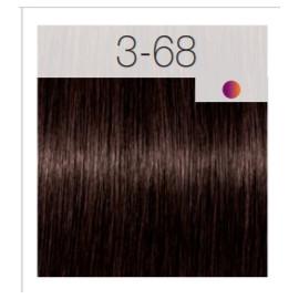 - SCHWARZKOPF - Tinte Igora Royal 3/68 Castaño Oscuro Marrón Rojo 60 ml + oxidante gratis