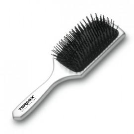 - TERMIX - Cepillo Raqueta Neumática Plata (especial desenredos)