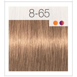 - SCHWARZKOPF - Tinte Igora Royal 8/65 Rubio Claro Marrón Dorado 60 ml + oxidante gratis