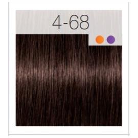 - SCHWARZKOPF - Tinte Igora Royal 4/68 Castaño Medio Marrón Rojo 60 ml + oxidante gratis