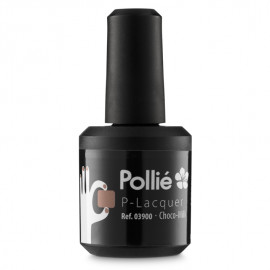 - POLLIE - Esmalte semi-permanente P-Laquer Milk Chocolate 15 ml