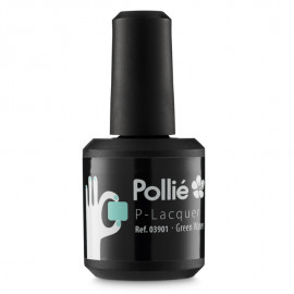 - POLLIE - Esmalte semi-permanente P-Laquer Green Water 15 ml