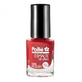 - POLLIE - Esmalte de uñas Rojo Pasión 12 ml