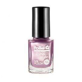 - POLLIE - Esmalte de uñas Lila Perlado 12 ml