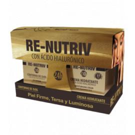 - TAHE - Pack Re-nutriv Crema Hidratante + Contorno de Ojos
