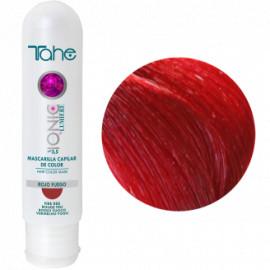 - TAHE - Mascarilla Ionic  Capilar color Rojo Fuego 100 ml