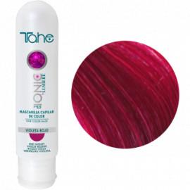 - TAHE - Mascarilla Ionic Capilar color Violeta Rojo 100 ml
