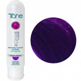 - TAHE - Mascarilla Ionic Capilar color Violeta Intenso 100 ml