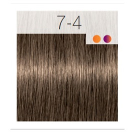 - SCHWARZKOPF - Tinte Igora Royal 7/4 Rubio Medio Beige 60 ml + oxidante gratis
