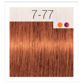 - SCHWARZKOPF - Tinte Igora Royal 7/77 Rubio Medio Cobrizo Intenso 60 ml + oxidante gratis