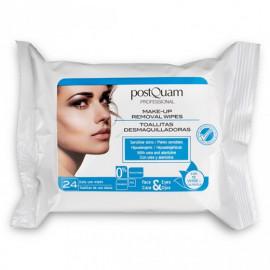 - POSTQUAM - Toallitas Desmaquilladoras para pieles sensibles 24 unidades