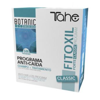 - TAHE - Pack Fitoxil Anti-caída (champú efecto reforzado 250 ml + 5 ampollas)