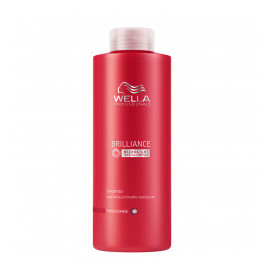 - WELLA - Champú Brilliance Cabellos Coloreados fino/normal 1000 ml