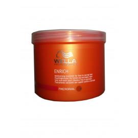- WELLA - Mascarilla Enrich cabello fino/normal 500 ml