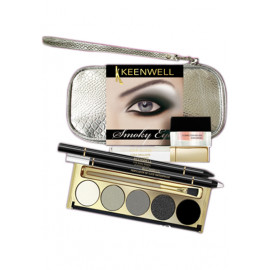 - KEENWELL - Pack Sombras de Ojos Ahumados con neceser