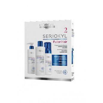 - L´OREAL - Pack SERIOXYL anticaída Cabellos Coloreados (champú 250 ml + acondicionador 250 ml + tratamiento 125 ml)