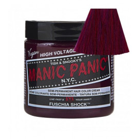 - MANIC PANIC - Tinte semipermanente fantasia Fuschia Shock 118 ml