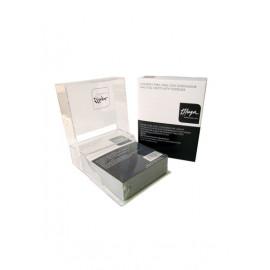 - THUYA - Aluminio para uñas con dispensador 400 unidades