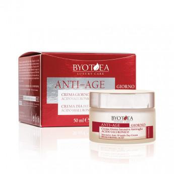 - BYOTHEA - Crema de día Intensiva Antiarrugas con Ácido Hialurónico 50 ml