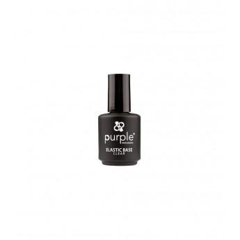 - PURPLE - Base Elastic Clear 15 ml