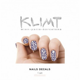 - KLIMT - Pegatinas para uñas Gustav 1 set