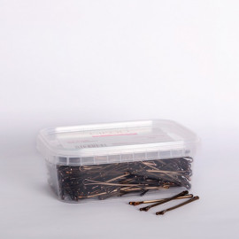 - BIFULL - Horquillas Clip planas BRONCE 51 mm 250 gramos