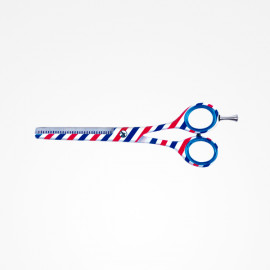 """- BIFULL - Tijeras Barber Line Rayas Entresacar 5.5"""""""